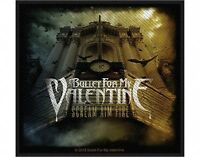 BULLET FOR MY VALENTINE scream aim fire 2012 - WOVEN SEW ON PATCH official BFMV