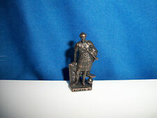 ROMAN ARMY #3 General Legatus DARK BRONZE Kinder Surprise Metal Soldier Figure