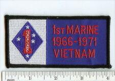 USMC 1st Marine Division VIETNAM Veteran 1966-1971 pocket PATCH 1st MarDiv VN