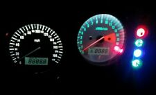 WHITE Gsxr SRAD 600 750 led dash clock conversion kit lightenUPgrade