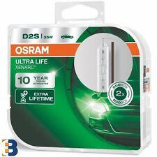 2x D2S OSRAM XENARC ULTRA LIFE 66240 ULT-BCO XENON HID AUTO LAMPADINA DEL FARO Duobox