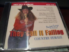POCKET SONGS KARAOKE DISC PSCDG 1548 THEY CALL IT FALLING COUNTRY CD+G MULTIPLEX