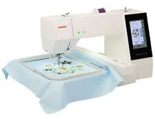 JANOME 500E Stickmaschine & incl. Software Embroidery Editor & Digitzer Jr V5