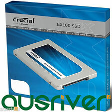 "Crucial BX100 Series 500GB 2.5"" SATA3 7mm Internal Solid State Drive SSD 535MB/s"
