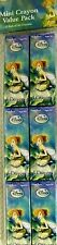 Disney Tinker Bell Mini Crayon Value Pack (12ct) -NEW!!