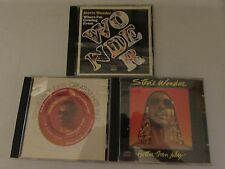 3 STEVIE WONDER CD LOT - WHERE I'M COMING FROM (RARE OOP) + HITS VOL.2 + JULY