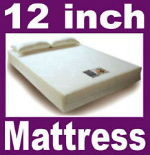 12 inch - 3ft Single Visco Elastic Memory Foam Mattress Free Delivery RRP £1000+