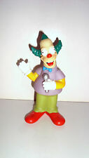 FIGURINE SIMPSON SERIE QUICK FOX 2001 - KRUSTY LE CLOWN (13x7cm)