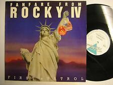 """FANFARE FROM ROCKY IV SOUNDTRACK - O.S.T. - 12"""" MAXI"""