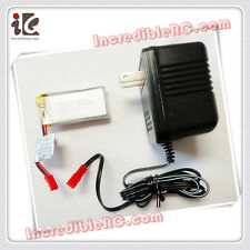 COMBO 3.7V LIPO BATTERY AND CHARGER SET DFD F163 RC HELICOPTER F163-04 F163-08