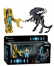 Funko ReAction: Aliens - Ripley, Power Loader, Alien Queen Action Figure Set