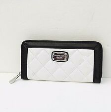 MICHAEL KORS HAMILTON QUILT FRAME OUT CONTINENTAL Z/A CLUTCH WALLET MSRP 168.00