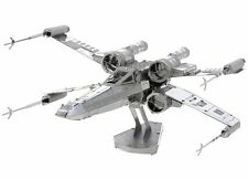 Metal Earth STAR WARS X-WING FIGHTER 3D Model Kit - Steel NANO Puzzle