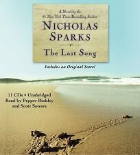The Last Song by Nicholas Sparks Audio CD Book Unabridged/English/Free Shipping