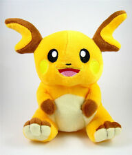"New Pokemon Raichu from Pikachu Plush Soft Toy Stuffed Animal Doll 7"" US xmas"