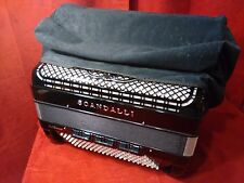 New Fuselli Accordion Dust Cover Velour 120 Bass Fits Scandalli Made in Italy