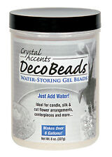 Clear water pearls for Holiday or Wedding Reception Decoration Makes 6 Gallons