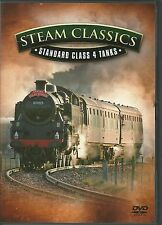 STEAM CLASSICS STANDARD CLASS 4 TANKS - TRAINS DVD