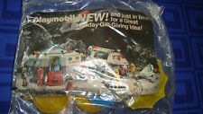Vintage 1982 McDonalds Playmobil Female Suitcase Umbrella Hat New In The Package