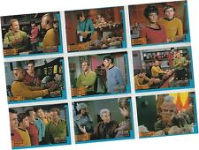 "Star Trek DS9 Profiles: 9 Card ""Trials & Tribble-ations"" Chase Set TT1-9 - 1997"