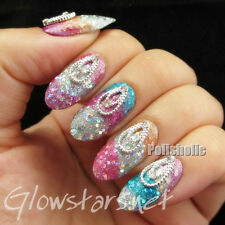 5Pcs/Bag 3D Nail Art Decoration Vintage Hollowed Bling Design Manicure Charms