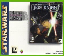 JEDI KNIGHT star wars-ITALIANO DARK FORCES 2 cd rom pc NUOVO SIGILLATO