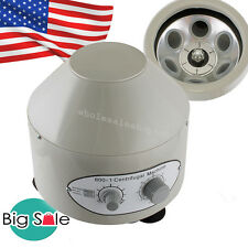 USA 800-1 Electric Centrifuge Machine 4000rpm Lab Medical Practice 20 Ml X6 Sale