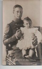 Vintage Postcard Crown Prince Wilhelm of Germany and Family