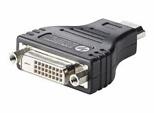 NEW HP HDMI to DVI Adapter F5A28AA Black OEM Genuine