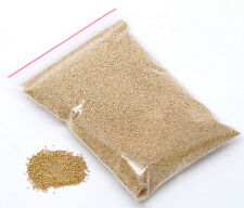 25g Gold No Hole Micro Beads Caviar Manicure, Pedicure Crafts Free UK postage