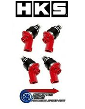 New Set 4 x Genuine HKS Uprated 740cc Injectors- For RPS13 180SX SR20DET Redtop