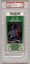 2006 SUPER BOWL XL game used ticket stub PSA