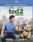 Ted 2 (Blu-ray Disc, 2015, 2-Disc Set, Includes Digital Copy)