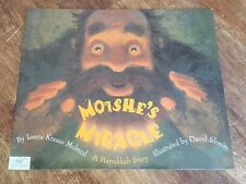 NEW Moishe's Miracle : A Hanukkah Story by Laura Krauss Melmed (2005)