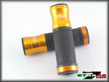 Ducati M1100 S EVO 821 796 696 MONSTER S4RS Strada 7 Racing CNC Hand Grips Gold