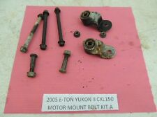 05 ETON YUKON II CXL 150 YXL VIPER ENGINE MOTOR MOUNT BRACKETS BOLTS SET A