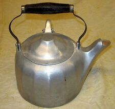 Antique Wagner Ware Sidney O Colonial Tea Kettle 6 Quarts Dated 107M Primitive