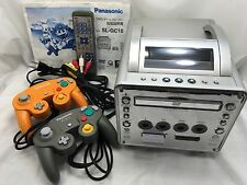 Nintendo GameCube Console Panasonic Q SL-GC10-S DVD/Game Player from Japan