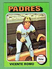 1975 Topps Mini #274 Vicente Romo Padres NM/MT