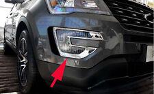 Chrome Front Fog Light Cover Trim For 2016 Ford Explorer ABS Foglight