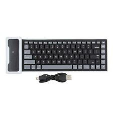 New Flexible Silicone Wireless Bluetooth Mini Keyboard for PC Laptop iPad LD