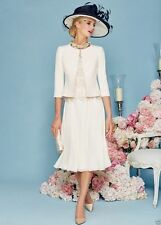 New Lace Mother Of The Bride Dress With Jacket Women Formal Outfit For Wedding