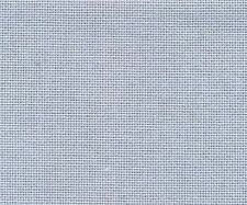 28 Count Dusk Blue Evenweave Cross Stitch Fabric Fat Quarter 50cm x 55cm