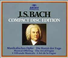 Bach Edition: Art of Fugue / Musical Offering / Canons: On Authentic Instruments