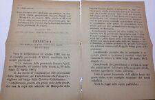 Regio Decreto-14/11/1888 Dichiarazione provinc. di Pescara Popoli e Chieti - 536