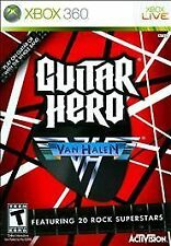 Guitar Hero Van Halen XBOX 360 NEW! FOO FIGHTERS, QUEEN, WEEZER, BLINK 182, IDOL