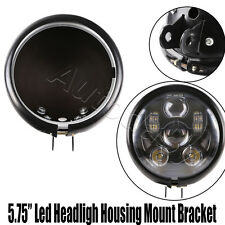 "5 3/4"" 5.75 Inch Daymaker Led Headlight Housing for Harley Davidson Motorcycles"