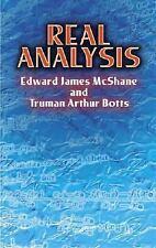 Real Analysis (Dover Books on Mathematics) McShane, Edward James, Botts, Truman