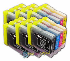 24 Brother LC1000 Bk/C/M/Y Compatible Ink Cartridges