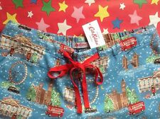 CATH KIDSTON BNWT XS London Christmas Pyjama PJ Lounge Bottoms UK 6-8 Gift Bag